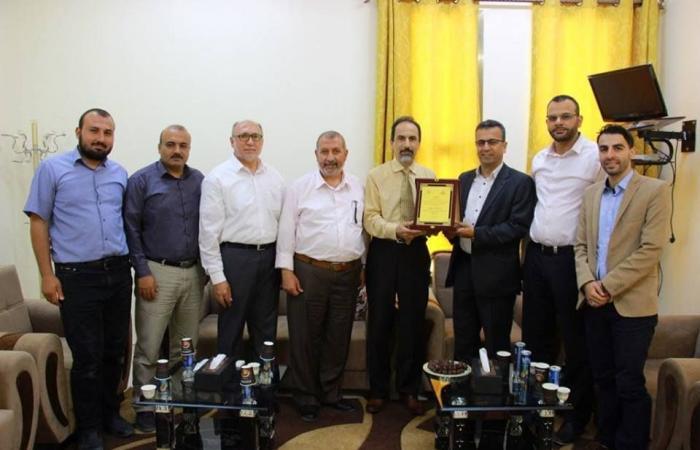فلسطين | تجمع الأطباء يزور عدة مؤسسات صحية وأكاديمية في قطاع غزة