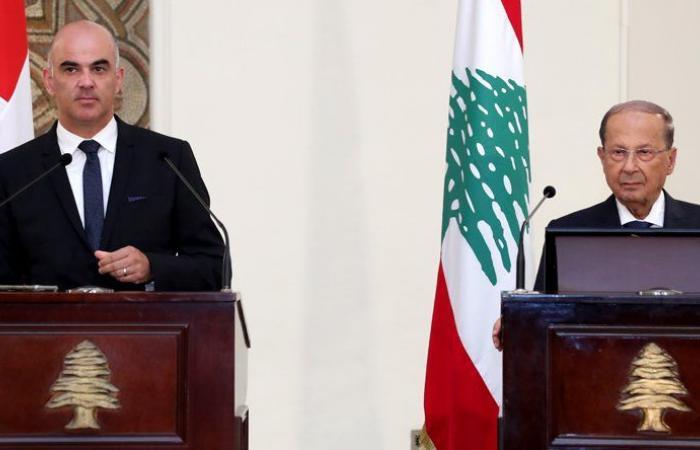 الرئيس السويسري في بيروت… وجولة على الرؤساء الثلاث