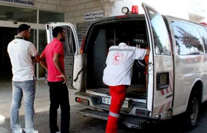 فلسطين | 6 إصابات بحادث سير ذاتي في خانيونس