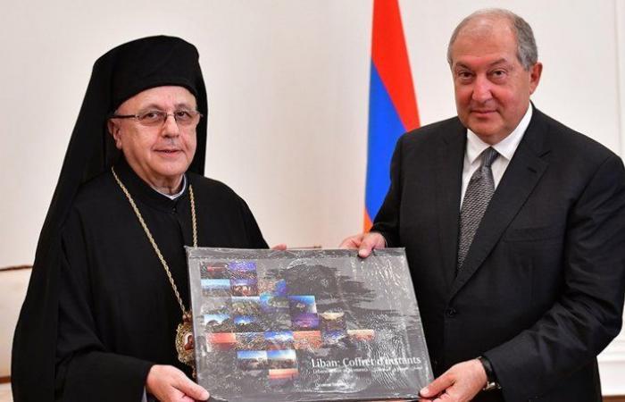 وفد إقتصادي لبناني برئاسة المطران درويش زار أرمينيا