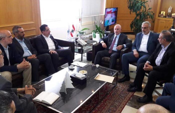 فنيانوس التقى الحاج حسن وعرض مع عدد من النواب شؤونًا مناطقية