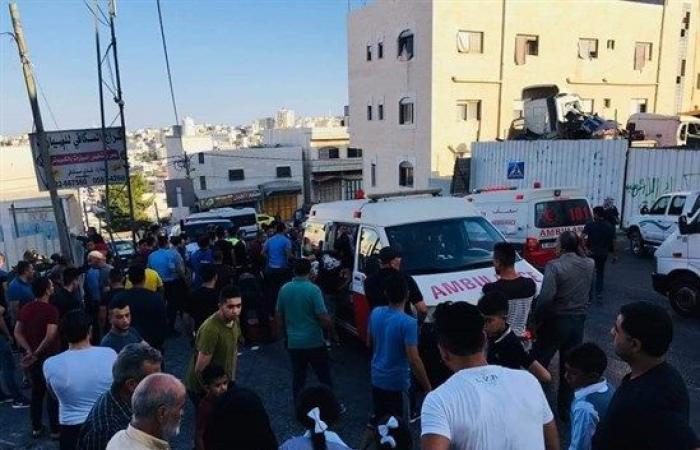 فلسطين | اصابة 14 طالبة احداها خطرة في حادث دهس وقع في الخليل