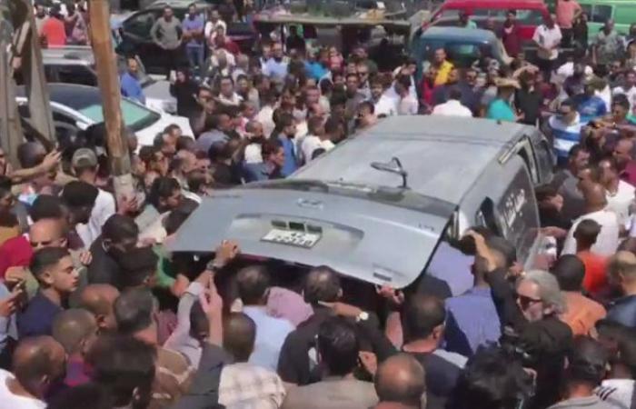 بالفيديو.. تشييع جثمان الفنان الأردني ياسر المصري