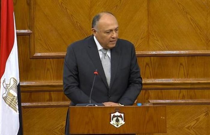 مصر | شكري: أتوقع التزام إثيوبيا باتفاقيات سد النهضة