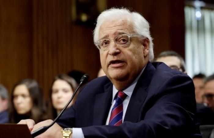 فلسطين | في محادثة مغلقة .. هذا ما قاله السفير الأمريكي عن التهدئة وحماس والحرب على غزة