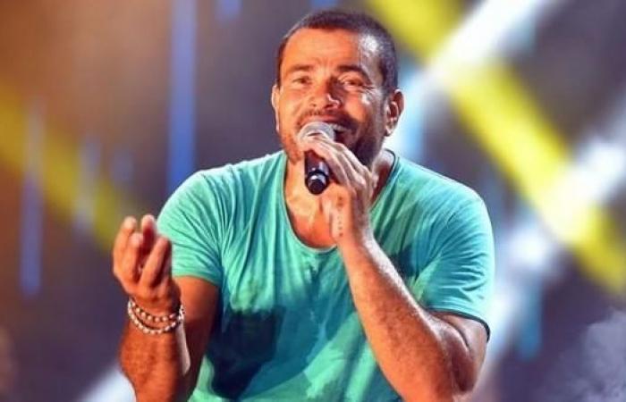 شاهد.. عمرو دياب يعتدي على واحد من حراسه لهذا السبب