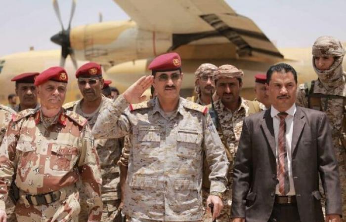 اليمن | من عدن - قائد الجيش يعد «بتحرير قريب وحتمي» لمحافظة تعز