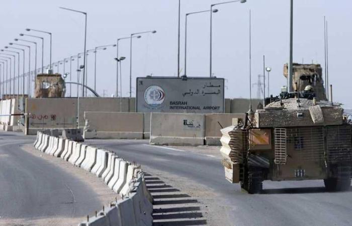 قذائف تستهدف مطار البصرة.. وإقالة قائد الشرطة