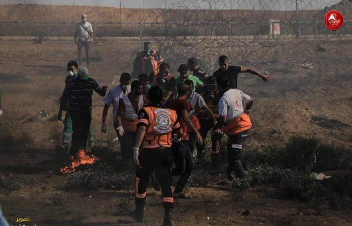 فلسطين | الاحتلال يعلن انه سيحقق بقتل فتى فلسطيني خلال المواجهات بغزة