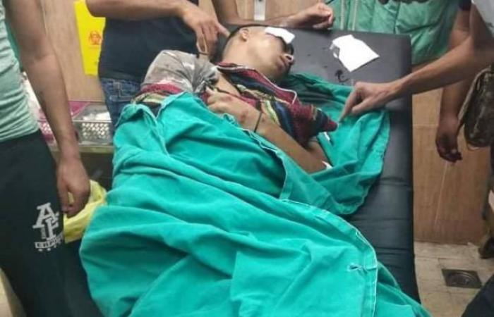 فلسطين | إصابة شاب وفتى بالرصاص خلال مواجهات مع الاحتلال في نابلس