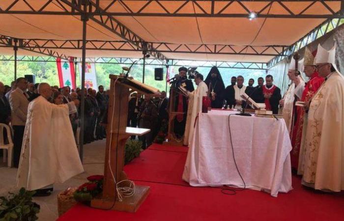 الراعي يترأس قداس سيدة ايليج تكريمًا لشهداء المقاومة اللبنانية