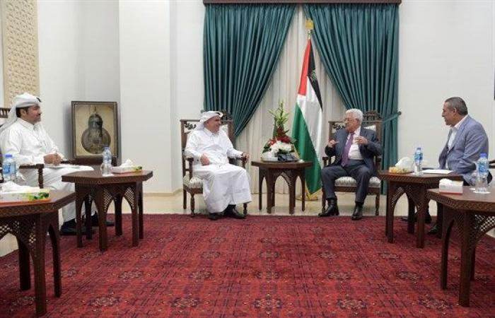 فلسطين | ما هي الرسالة الشفهية الني نقلها السفير القطري للرئيس عباس ؟