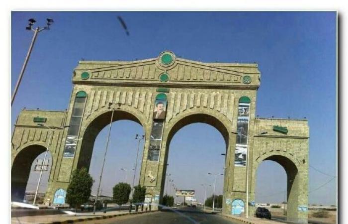 اليمن | شاهد : «قوس النصر» قبل وبعد وكيف اصبح بعد معارك عنيفة بين الشرعية والانقلاب في الحديدة
