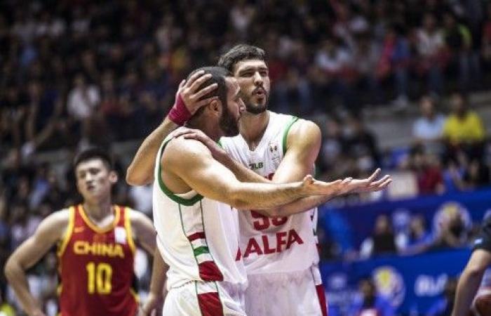 منتخب الأرز يهزم التنين الصيني ضمن تصفيات كأس العالم لكرة السلة