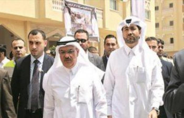 فلسطين | السفير القطري يصل غزة