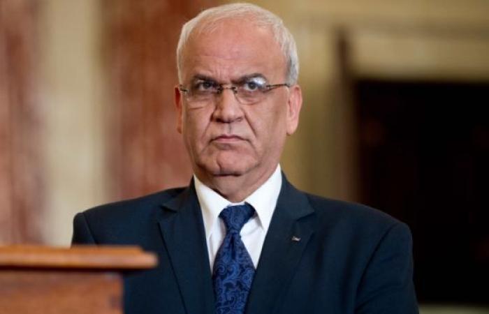 فلسطين   عريقات: الرئيس عباس قد يقرر تعليق الاعتراف بإسرائيل