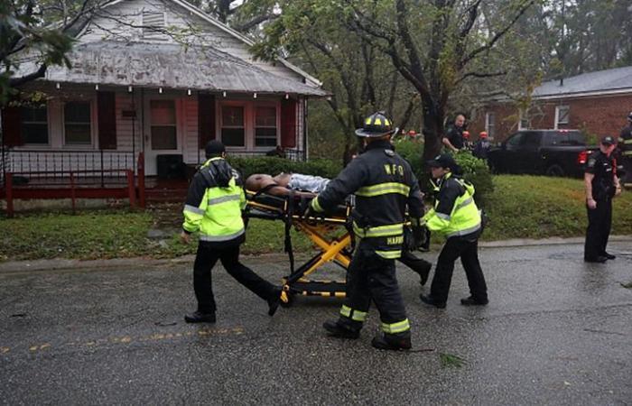"""وفيات و""""أمطار قياسية"""" شرق الولايات المتحدة جراء """"فلورنس"""""""