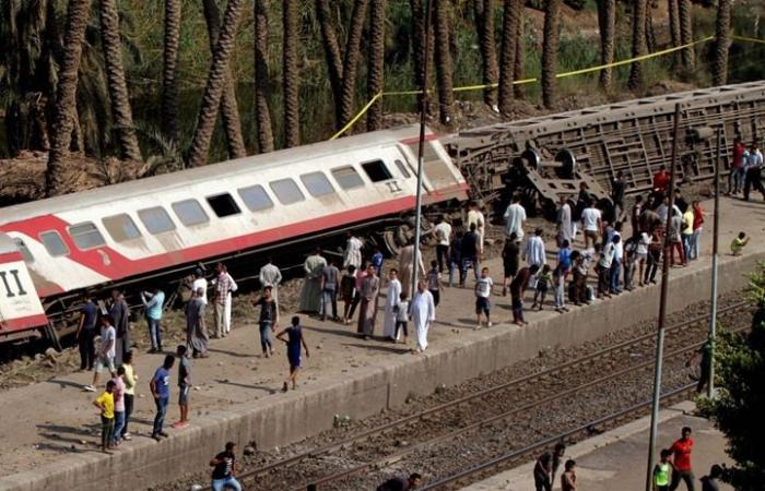 مجدّدا في مصر.. خروج قطار عن السكة وإصابة 12 شخصا