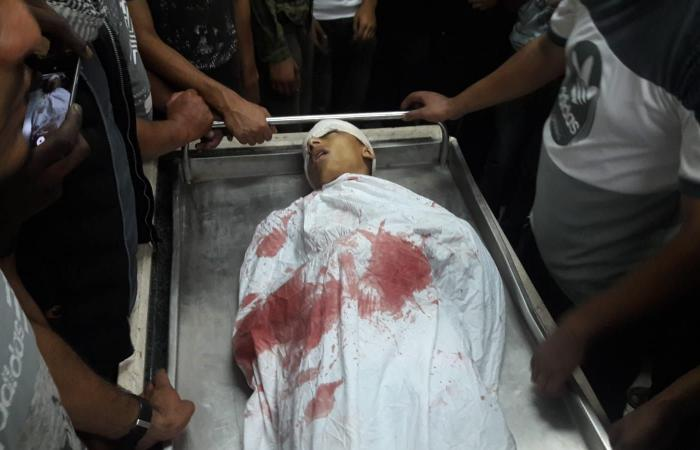 فلسطين | صور ..استشهاد فتى برصاص الاحتلال الاسرائيلي شرق رفح جنوب قطاع غزة