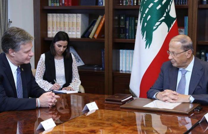 عون يؤكد استمرار التعاون بين أميركا والجيش اللبناني