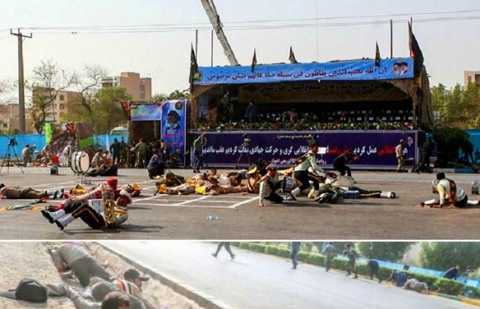 إيران | فيديو لقتلى هجوم الأهواز ولروحاني يغادر المكان مسرعا