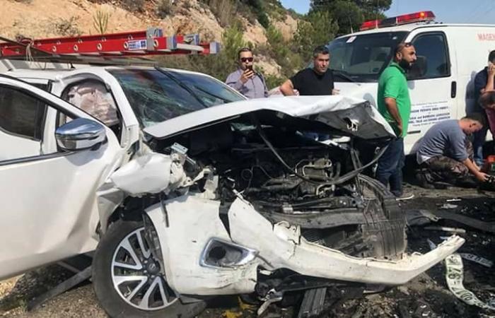 فلسطين   جنين:9 إصابات بينهم 5 أطفال بحادث سير على طريق نابلس جنين