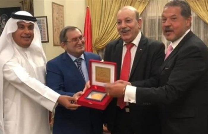 فلسطين | السفير عارف يكرم نظيره الروسي بالبحرين ويستقبل الباكستاني والسوري
