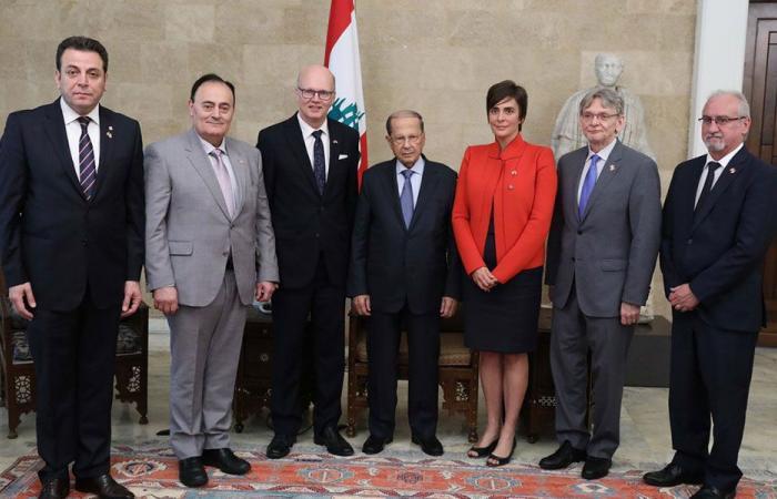 عون: لبنان يتطلع الى تعزيز العلاقات مع كندا وتطويرها