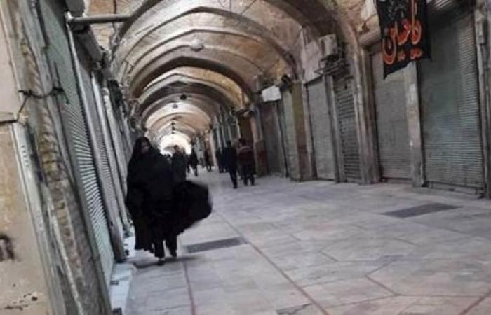 إيران   إيران.. أسواق تغلق أبوابها تضامناً مع سائقي الشاحنات