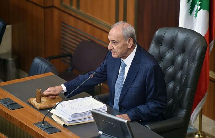 بري يدعو البرلمان الى انتخاب امين سر و3 مفوضين