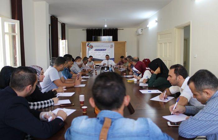 فلسطين | مركز عبد الشافي للثقافة والتنمية يينظم لقاءا حواريا