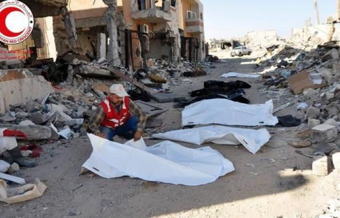 ليبيا.. رفات 75 شخصاً في مقبرة بمدينة سرت