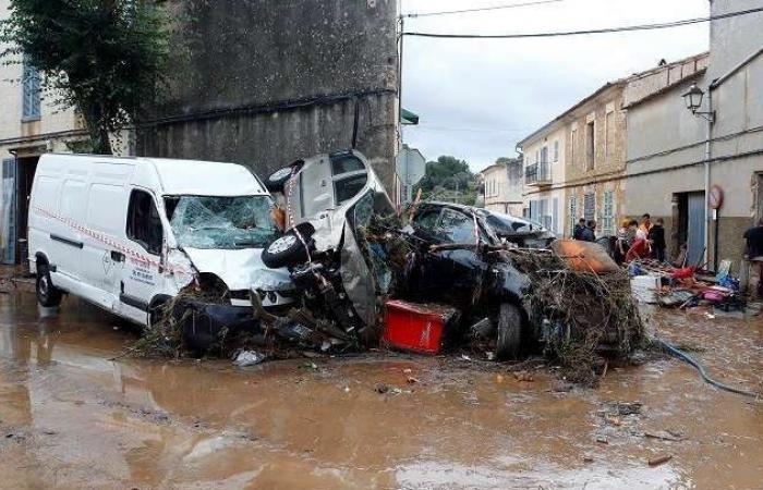 سوريا | مشاهد تحبس الأنفاس.. فيضانات مرعبة تضرب إسبانيا وتخلف خسائر بشرية ومادية