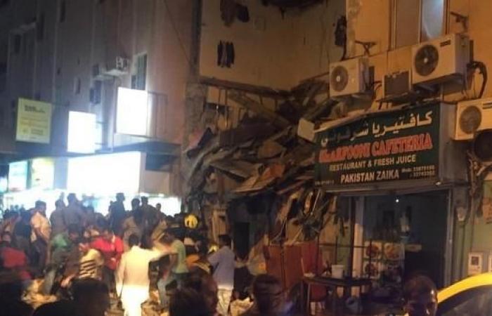 البحرين.. أسطوانة غاز تتسبب بانهيار مبنى وإصابة 20