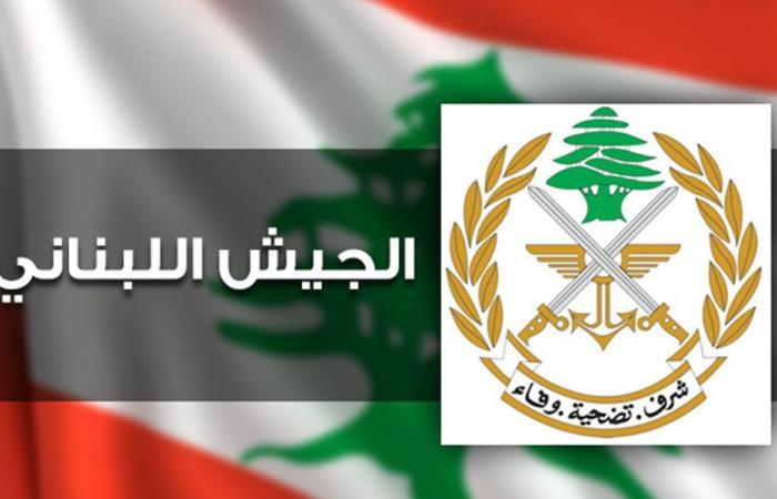 الجيش: توقيف 2135 شخصا خلال شهر أيلول