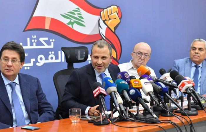 لبنان القوي: الحكومة قبل نهاية الشهر