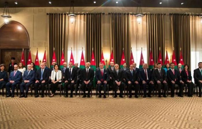 فلسطين | الاردن: تعديل وزاري في حكومة الرزاز بدمج 7 حقائب وزارية وتعيين 7 وزراء