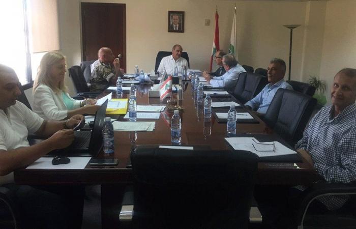 الخطيب ترأس المجلس الوطني للمقالع والكسارات
