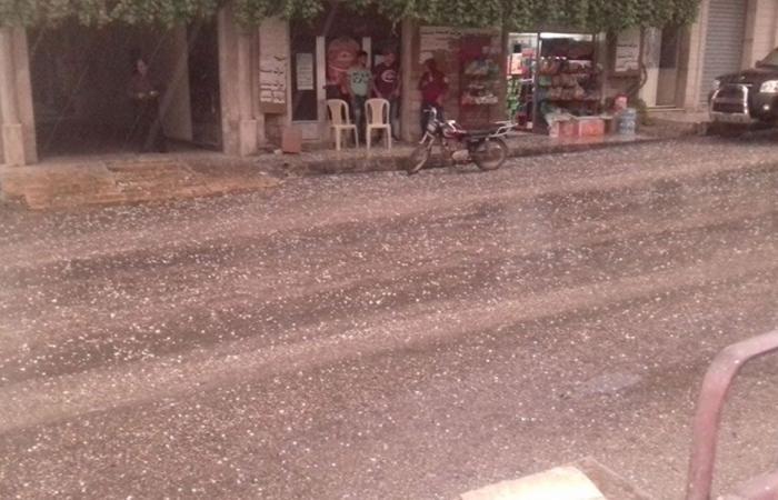 سيول بسبب الأمطار في الهرمل… والأضرار فادحة