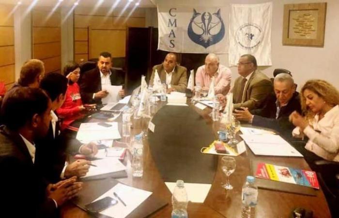 فلسطين   فلسطين شاركت في اجتماعات الاتحاد العربي للغوص
