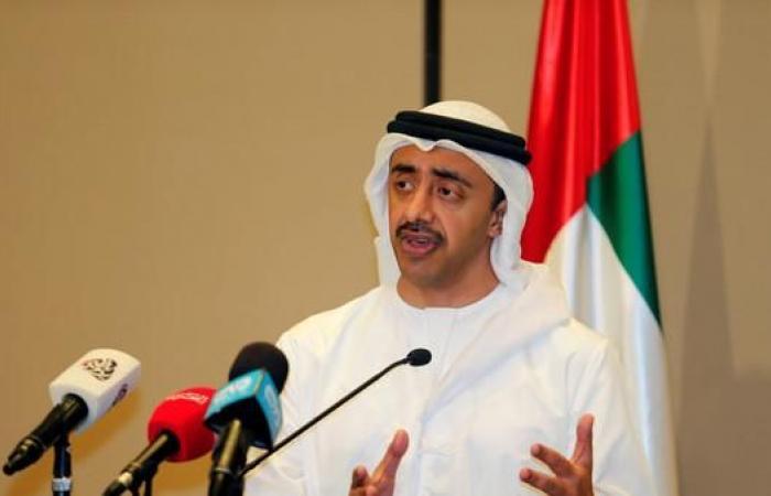 عبد الله بن زايد: وقوفنا مع السعودية وقفة مع الشرف