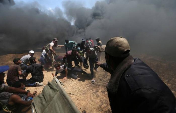 فلسطين   قطر: ما يجري في غزة قمع وحشي لمتظاهرين سلميين