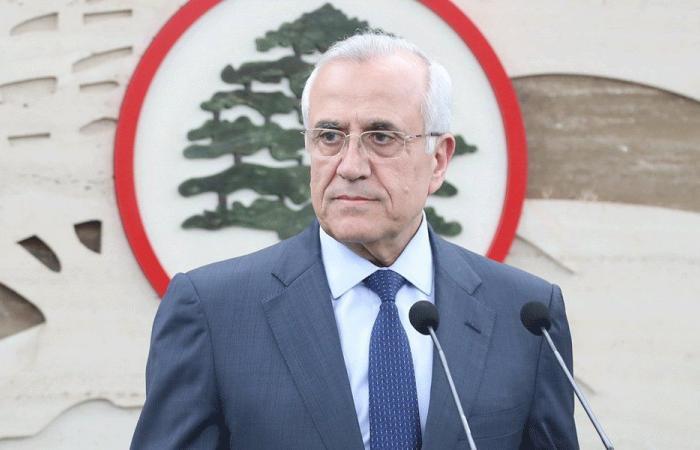 سليمان: كان المجتمع الدولي ينتظر من لبنان سلوكا سياسيا إيجابيا
