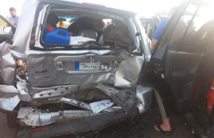 أربعة جرحى بحادث سير في الخرايب