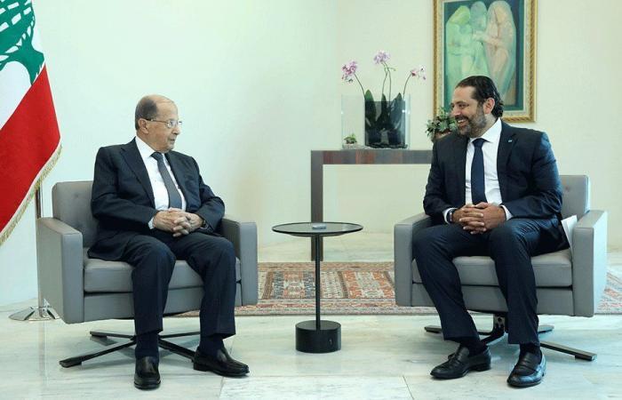 الحكومة رهن لقاء بين عون والحريري الأسبوع المقبل