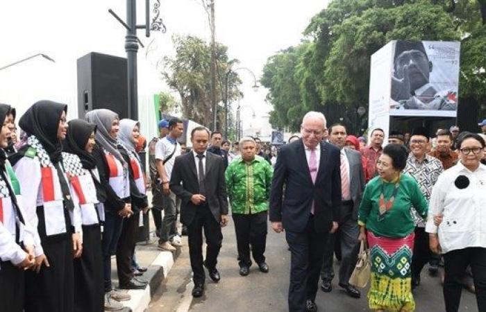 فلسطين | إطلاق أسبوع التضامن الاندونيسي مع فلسطين