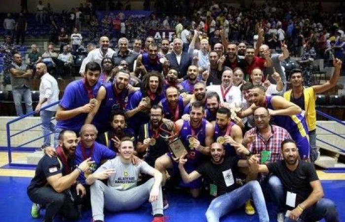 الرياضي بيروت بطل السوبر في كرة السلة