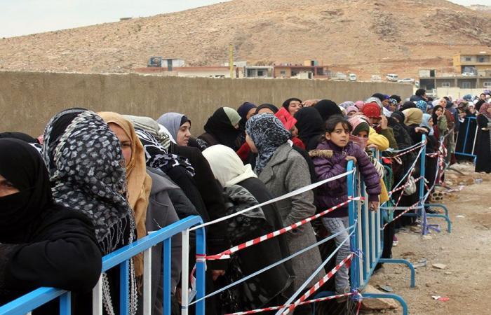 مغادرة دفعة جديدة من النازحين من وادي حميد بعرسال