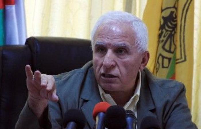 فلسطين   الاحمد: وفد مصري رسمي يزور رام الله الخميس المقبل لبحث ملف المصالحة