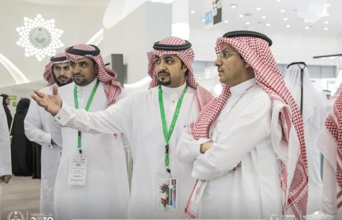 جناح الداخلية السعودية يستقطب آلاف الزوار خلال جيتكس 2018